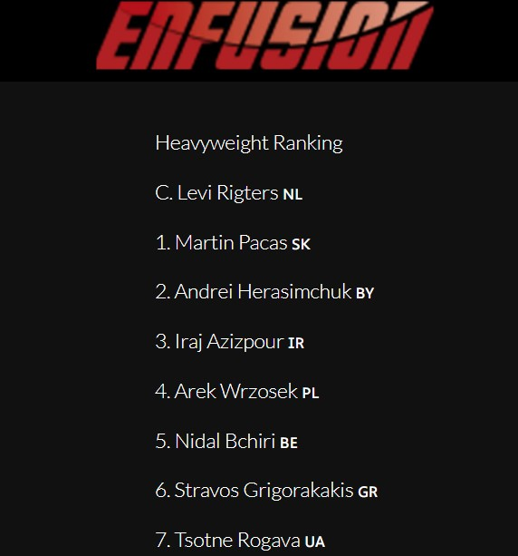 Enfusion ranking