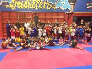 Kickboks thaiboks training jeugd