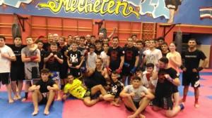 Kickboks thaiboks training volwassenen